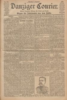 Danziger Courier : Kleine Danziger Zeitung für Stadt und Land : Organ für Jedermann aus dem Volke. Jg.19, Nr. 282 (2 Dezember 1900) + dod.