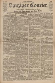 Danziger Courier : Kleine Danziger Zeitung für Stadt und Land : Organ für Jedermann aus dem Volke. Jg.19, Nr. 286 (7 Dezember 1900)