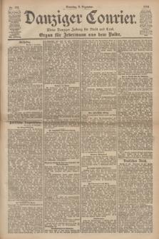 Danziger Courier : Kleine Danziger Zeitung für Stadt und Land : Organ für Jedermann aus dem Volke. Jg.19, Nr. 288 (9 Dezember 1900) + dod.