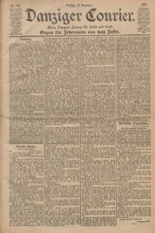 Danziger Courier : Kleine Danziger Zeitung für Stadt und Land : Organ für Jedermann aus dem Volke. Jg.19, Nr. 292 (14 Dezember 1900)