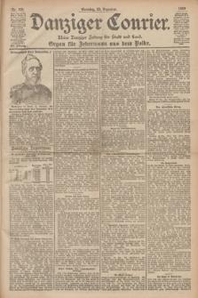 Danziger Courier : Kleine Danziger Zeitung für Stadt und Land : Organ für Jedermann aus dem Volke. Jg.19, Nr. 300 (23 Dezember 1900) + dod.