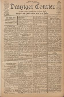 Danziger Courier : Kleine Danziger Zeitung für Stadt und Land : Organ für Jedermann aus dem Volke. Jg.20, Nr. 3 (4 Januar 1901)