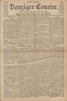 Danziger Courier : Kleine Danziger Zeitung für Stadt und Land : Organ für Jedermann aus dem Volke. Jg.20, Nr. 23 (27 Januar 1901) + dod.