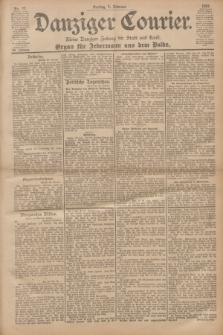 Danziger Courier : Kleine Danziger Zeitung für Stadt und Land : Organ für Jedermann aus dem Volke. Jg.20, Nr. 27 (1 Februar 1901)