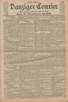 Danziger Courier : Kleine Danziger Zeitung für Stadt und Land : Organ für Jedermann aus dem Volke. Jg.20, Nr. 33 (8 Februar 1901)