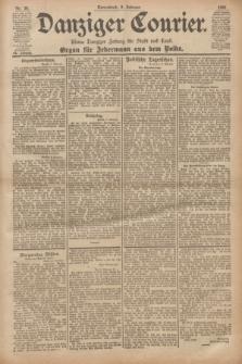 Danziger Courier : Kleine Danziger Zeitung für Stadt und Land : Organ für Jedermann aus dem Volke. Jg.20, Nr. 34 (9 Februar 1901)