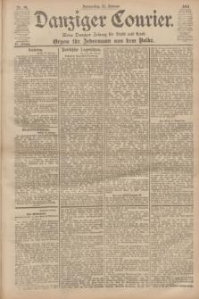 Danziger Courier : Kleine Danziger Zeitung für Stadt und Land : Organ für Jedermann aus dem Volke. Jg.20, Nr. 44 (21 Februar 1901)