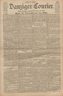 Danziger Courier : Kleine Danziger Zeitung für Stadt und Land : Organ für Jedermann aus dem Volke. Jg.20, Nr. 45 (22 Februar 1901)