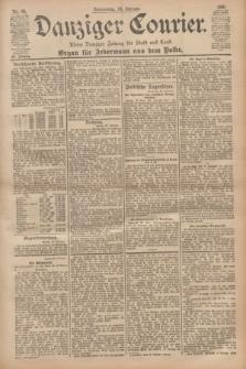Danziger Courier : Kleine Danziger Zeitung für Stadt und Land : Organ für Jedermann aus dem Volke. Jg.20, Nr. 50 (28 Februar 1901)