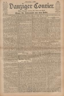 Danziger Courier : Kleine Danziger Zeitung für Stadt und Land : Organ für Jedermann aus dem Volke. Jg.20, Nr. 56 (7 März 1901)
