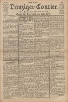 Danziger Courier : Kleine Danziger Zeitung für Stadt und Land : Organ für Jedermann aus dem Volke. Jg.20, Nr. 57 (8 März 1901)