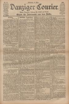 Danziger Courier : Kleine Danziger Zeitung für Stadt und Land : Organ für Jedermann aus dem Volke. Jg.20, Nr. 61 (13 März 1901)
