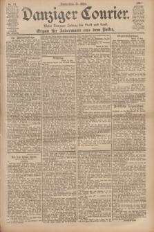 Danziger Courier : Kleine Danziger Zeitung für Stadt und Land : Organ für Jedermann aus dem Volke. Jg.20, Nr. 68 (21 März 1901)