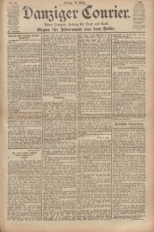 Danziger Courier : Kleine Danziger Zeitung für Stadt und Land : Organ für Jedermann aus dem Volke. Jg.20, Nr. 69 (22 März 1901)