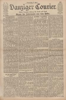 Danziger Courier : Kleine Danziger Zeitung für Stadt und Land : Organ für Jedermann aus dem Volke. Jg.20, Nr. 80 (4 April 1901)