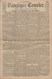 Danziger Courier : Kleine Danziger Zeitung für Stadt und Land : Organ für Jedermann aus dem Volke. Jg.20, Nr. 100 (30 April 1901)
