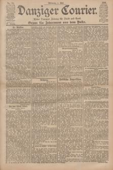 Danziger Courier : Kleine Danziger Zeitung für Stadt und Land : Organ für Jedermann aus dem Volke. Jg.20, Nr. 101 (1 Mai 1901)
