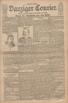 Danziger Courier : Kleine Danziger Zeitung für Stadt und Land : Organ für Jedermann aus dem Volke. Jg.20, Nr. 106 (7 Mai 1901)