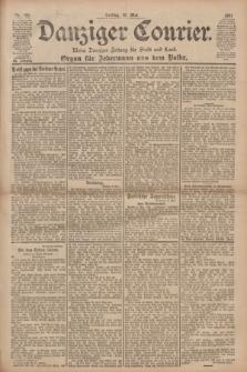 Danziger Courier : Kleine Danziger Zeitung für Stadt und Land : Organ für Jedermann aus dem Volke. Jg.20, Nr. 109 (10 Mai 1901)