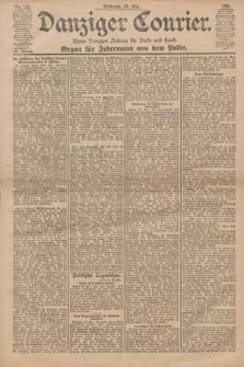 Danziger Courier : Kleine Danziger Zeitung für Stadt und Land : Organ für Jedermann aus dem Volke. Jg.20, Nr. 123 (29 Mai 1901)