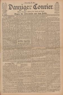 Danziger Courier : Kleine Danziger Zeitung für Stadt und Land : Organ für Jedermann aus dem Volke. Jg.20, Nr. 124 (30 Mai 1901)