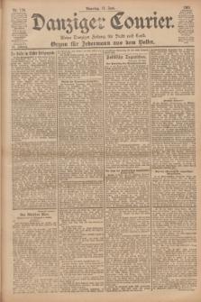 Danziger Courier : Kleine Danziger Zeitung für Stadt und Land : Organ für Jedermann aus dem Volke. Jg.20, Nr. 134 (11 Juni 1901)