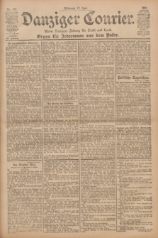 Danziger Courier : Kleine Danziger Zeitung für Stadt und Land : Organ für Jedermann aus dem Volke. Jg.20, Nr. 135 (12 Juni 1901)