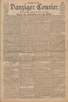 Danziger Courier : Kleine Danziger Zeitung für Stadt und Land : Organ für Jedermann aus dem Volke. Jg.20, Nr. 136 (13 Juni 1901)