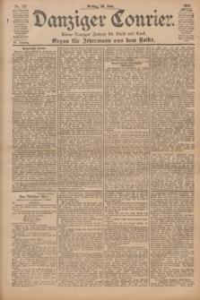 Danziger Courier : Kleine Danziger Zeitung für Stadt und Land : Organ für Jedermann aus dem Volke. Jg.20, Nr. 137 (14 Juni 1901)