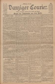 Danziger Courier : Kleine Danziger Zeitung für Stadt und Land : Organ für Jedermann aus dem Volke. Jg.20, Nr. 141 (19 Juni 1901)