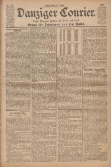 Danziger Courier : Kleine Danziger Zeitung für Stadt und Land : Organ für Jedermann aus dem Volke. Jg.20, Nr. 148 (27 Juni 1901)