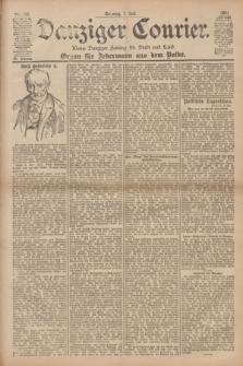 Danziger Courier : Kleine Danziger Zeitung für Stadt und Land : Organ für Jedermann aus dem Volke. Jg.20, Nr. 157 (7 Juli 1901) + dod.