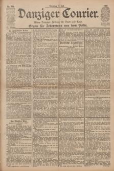 Danziger Courier : Kleine Danziger Zeitung für Stadt und Land : Organ für Jedermann aus dem Volke. Jg.20, Nr. 158 (9 Juli 1901)