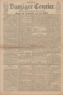 Danziger Courier : Kleine Danziger Zeitung für Stadt und Land : Organ für Jedermann aus dem Volke. Jg.20, Nr. 170 (23 Juli 1901)