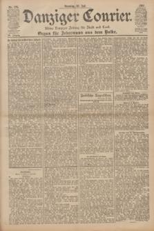 Danziger Courier : Kleine Danziger Zeitung für Stadt und Land : Organ für Jedermann aus dem Volke. Jg.20, Nr. 176 (30 Juli 1901)