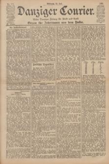 Danziger Courier : Kleine Danziger Zeitung für Stadt und Land : Organ für Jedermann aus dem Volke. Jg.20, Nr. 177 (31 Juli 1901)
