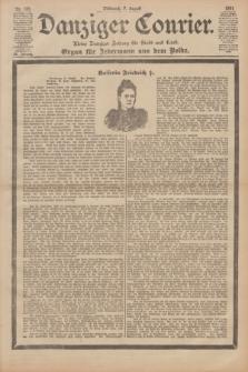 Danziger Courier : Kleine Danziger Zeitung für Stadt und Land : Organ für Jedermann aus dem Volke. Jg.20, Nr. 183 (7 August 1901)