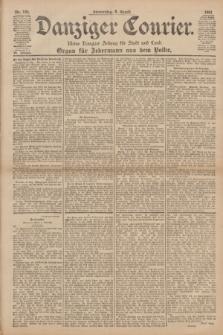 Danziger Courier : Kleine Danziger Zeitung für Stadt und Land : Organ für Jedermann aus dem Volke. Jg.20, Nr. 184 (8 August 1901)