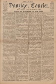 Danziger Courier : Kleine Danziger Zeitung für Stadt und Land : Organ für Jedermann aus dem Volke. Jg.20, Nr. 189 (14 August 1901)