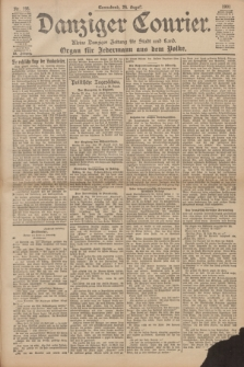 Danziger Courier : Kleine Danziger Zeitung für Stadt und Land : Organ für Jedermann aus dem Volke. Jg.20, Nr. 198 (24 August 1901)