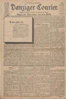 Danziger Courier : Kleine Danziger Zeitung für Stadt und Land : Organ für Jedermann aus dem Volke. Jg.20, Nr. 208 (5 September 1901)
