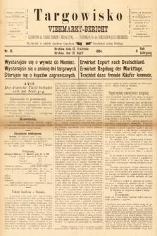 Targowisko : czasopismo dla handlu bydłem inierogacizną = Viehmerkt-Bericht : Fachorgan für den Internationalem Viehverkehr. 1894, nr15