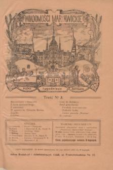 Wiadomości Maryawickie : pismo tygodniowe ilustrowane. R.8, № 3 (15 stycznia 1914)