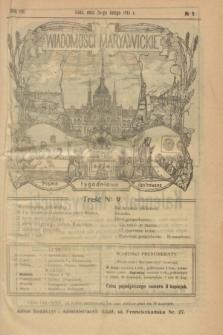 Wiadomości Maryawickie : pismo tygodniowe ilustrowane. R.8, № 9 (26 lutego 1914)
