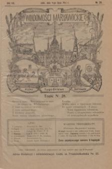 Wiadomości Maryawickie : pismo tygodniowe ilustrowane. R.8, № 28 (9 lipca 1914)