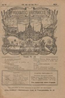 Wiadomości Maryawickie : pismo tygodniowe ilustrowane. R.8, № 32 (6 sierpnia 1914)
