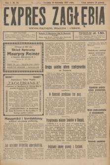 Expres Zagłębia : dziennik polityczny, społeczny i literacki. R.2, № 83 (10 kwietnia 1927)