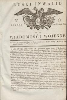 Ruski Inwalid : czyli wiadomości wojenne. 1817, No 9 (12 stycznia)