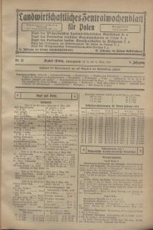 Landwirtschaftliches Zentralwochenblatt für Polen. Jg.9, Nr. 10 (9 März 1928)