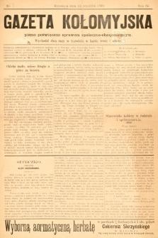 Gazeta Kołomyjska : pismo poświęcone sprawom spoleczno-ekonomicznym. 1892, nr3